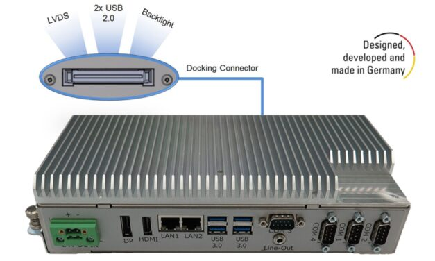 BoxPC Pro 7300 from Display Technology Ltd for challenging industrial applications