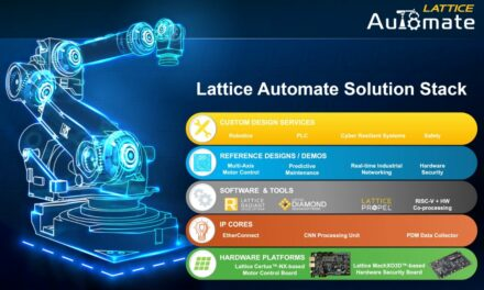 Lattice Automate Solution Stack Accelerates Development of Industrial Automation Systems