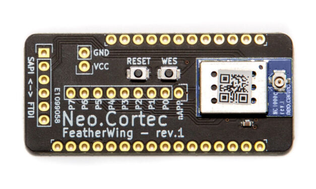New breakout boards from NeoCortec simplifies prototyping of NeoMesh ultra-low power wireless networks