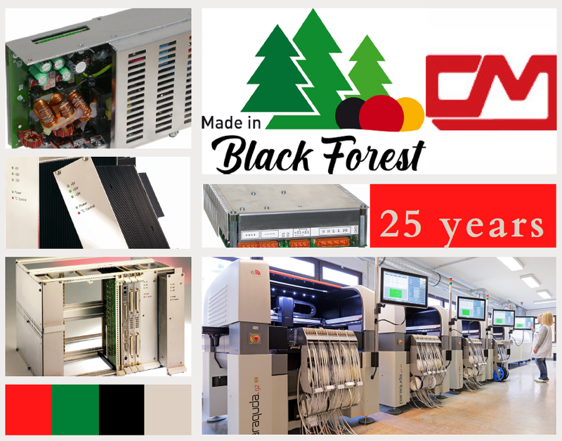 """High-Tech Power Supply Engineering """"Made in Black Forest"""""""