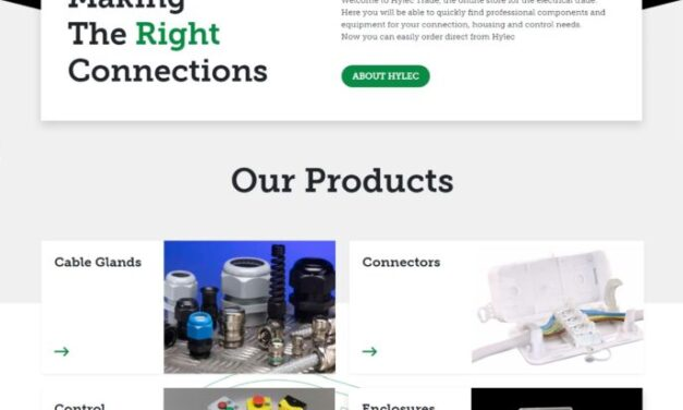 Hylec launches e-commerce website – easy ordering of Debox junction boxes, connectors, enclosures and control equipment, direct and fast from Hylectrade.com