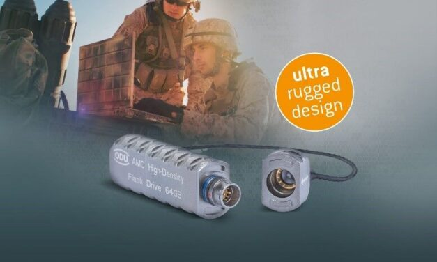 New flash-drive added to ODU AMC® military connector range
