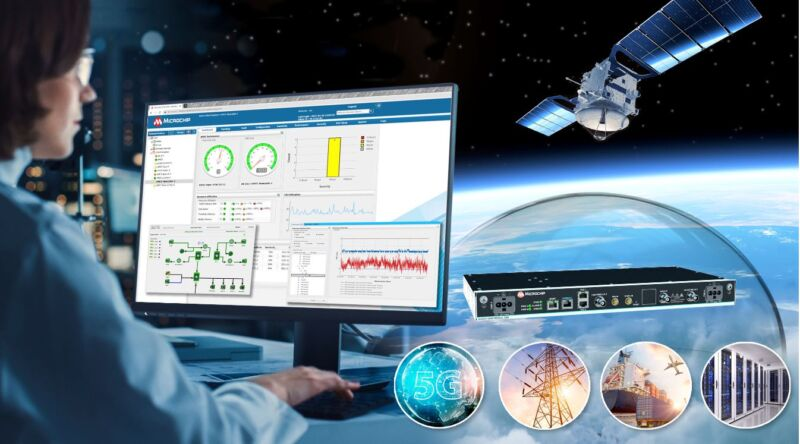 """Microchip Unifies Management of """"Terrestrial Time"""" and """"Live-Sky Time"""" Sources to Enable Resilient Timing for Critical Infrastructure"""