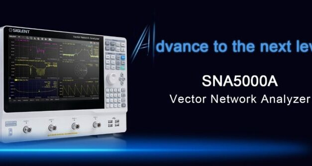 """SIGLENT presents its first vector network analyzer and the first device of its new """"A"""" performance line"""